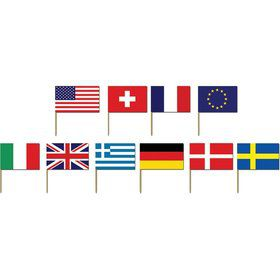 "International 2 1/2"" Flag Picks (50 Pack)"