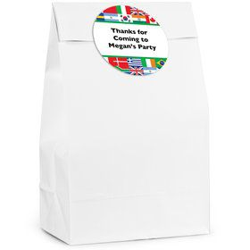International Personalized Favor Bag (12 Pack)