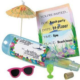 Invitation In A Bottle (each)