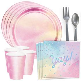 Iridescent Yay Standard Tableware Kit (Serves 8)