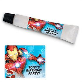 Iron Man Personalized Hand Sanitizer Kit (24 Pack)