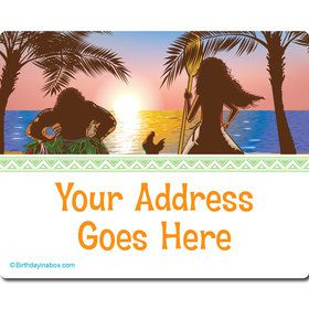 Island Princess Personalized Address Labels (Sheet of 15)