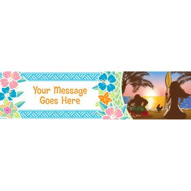 Island Princess Personalized Banner (Each)