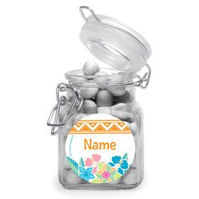 Island Princess Personalized Glass Apothecary Jars (12 Count)