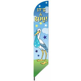It's a Boy 7' Baby Announcement Banner