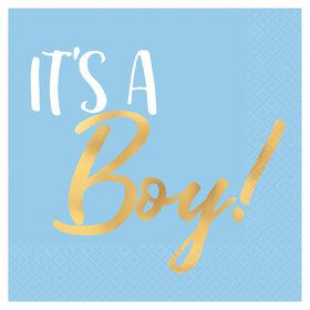 It's A Boy Beverage Napkins (16)