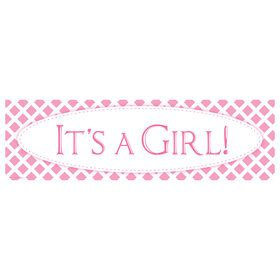 It's a Girl Birthday Banner (STD)
