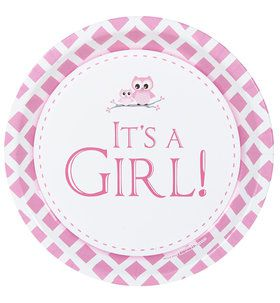 It's A Girl Dinner Plates (8)