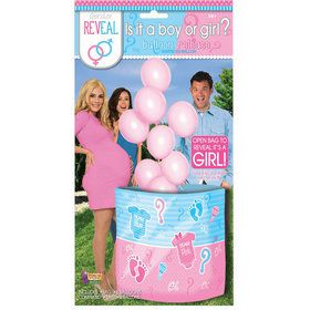 It's a Girl Gender Reveal Balloon Release
