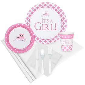 It's A Girl Party Pack (8)