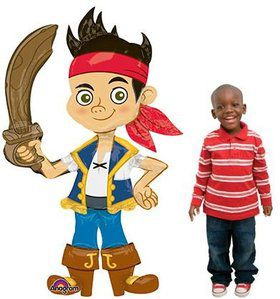 "Jack and the Neverland Pirates 75"" Airwalker Balloon (Each)"