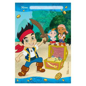 Jake and Neverland Pirates Favor Lootbags (8 Pack)
