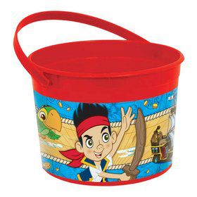 Jake and Neverland Pirates Plastic Favor Container (Each)