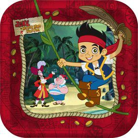 Jake And The Never Land Pirates Cake Plates (8-pack)