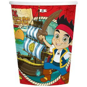 Jake And The Never Land Pirates Cups (8-pack)