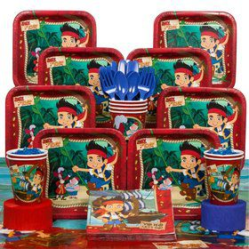 Jake and the Never Land Pirates Deluxe Tableware Kit Serves 8