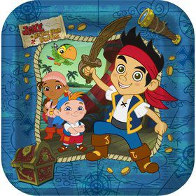Jake And The Never Land Pirates Dinner Plates (8-pack)