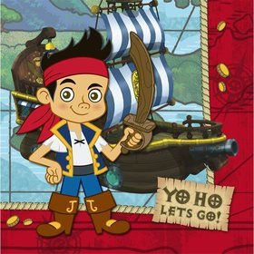 Jake And The Never Land Pirates Napkins (16-pack)