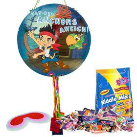 Jake And The Never Land Pirates Pull String Pinata Kit