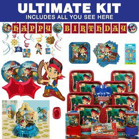 Jake And The Neverland Pirates Birthday Party Ultimate Tableware Kit Serves 8