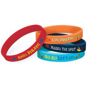 Jake and the Neverland Pirates Bracelet Favors (4 Pack)