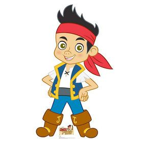 Jake and the Neverland Pirates Cardboard Standup (Each)