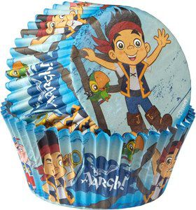 Jake and the Neverland Pirates Cupcake Baking Cups (50 Pack)