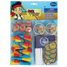 Jake and the Neverland Pirates Favor Pack (For 8 People)