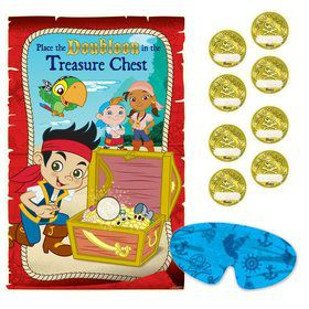 Jake and the Neverland Pirates Party Game (Each)