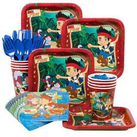 Jake And The Neverland Pirates Standard Tableware Kit Serves 8