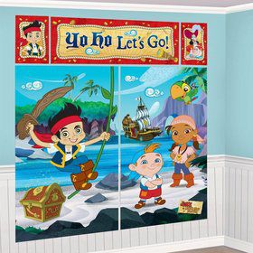 Jake and the Neverland Pirates Wall Decoration Kit (Each)