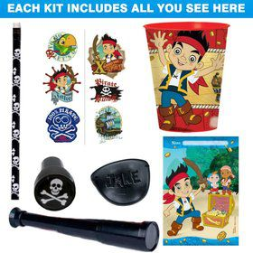 Jake & The Never Land Pirates Favor Kit