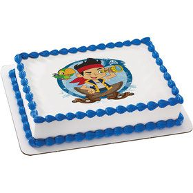 Jake & the Never Land Pirates Quarter Sheet Edible Cake Topper (Each)