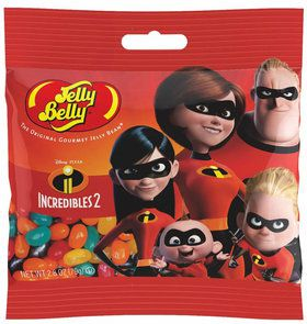 Jelly Belly Incredibles 2 Jelly Beans 2.8 oz Bag (1)