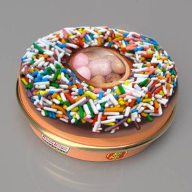 Jelly Belly Krispy Kreme: Doughnut Jelly Beans 1 oz Tin (1)