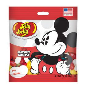 Jelly Belly Mickey Mouse Jelly Beans 2.8 oz Bag (Each)