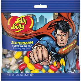 Jelly Belly Superman Jelly Beans 2.8 oz Bag (Each)