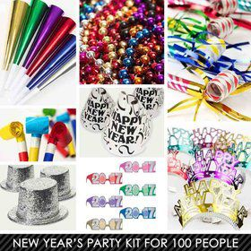 Jewel Tone New Years Kit (For 100 Guests)