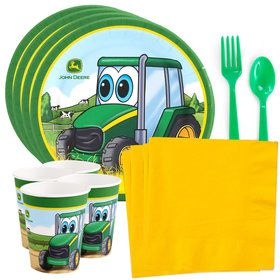 John Deere Johnny Tractor Standard Tableware Kit (Serves 8)