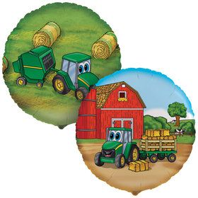Johnny Tractor Foil Balloon (Each)