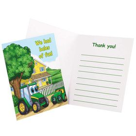 Johnny Tractor Thank You Notes (8 Count)