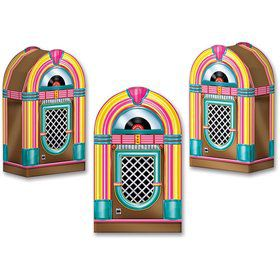 Jukebox Favor Boxes (3 Pack)