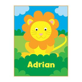 Jungle Animal Personalized Coloring Book (each)