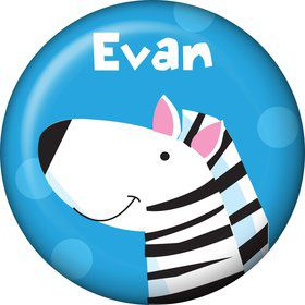Jungle Animals Personalized Mini Button (Each)