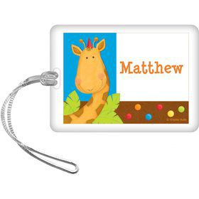 Jungle Birthday Personalized Bag Tag (each)