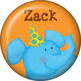 Jungle Birthday Personalized Mini Magnet (each)