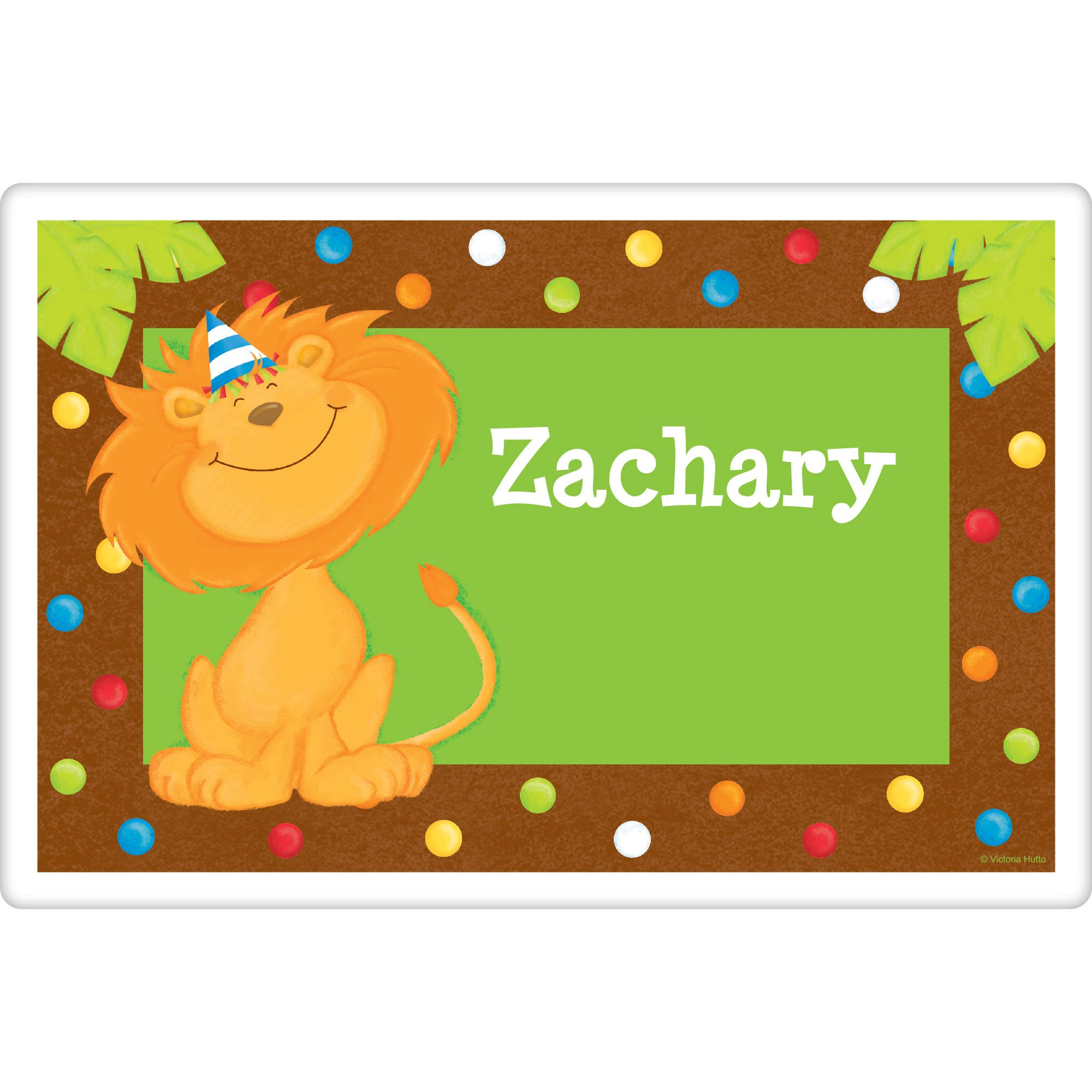 Jungle Birthday Personalized Placemat (Each) BB101769