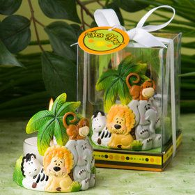 Jungle Creatures Candle Favor (Each)
