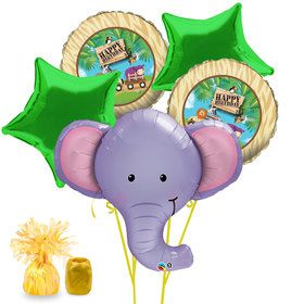 Jungle Friends Birthday Balloon Bouquet Kit