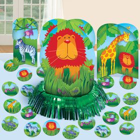 Jungle Friends Table Decorating Kit